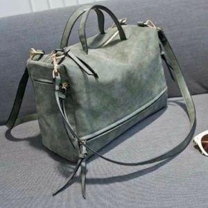 Ivy & Fig | Nubuck Messenger Bag